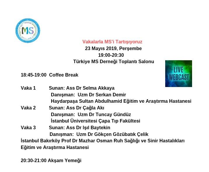 23 Mayıs Paylaşım Toplantısı Vaka Sunum